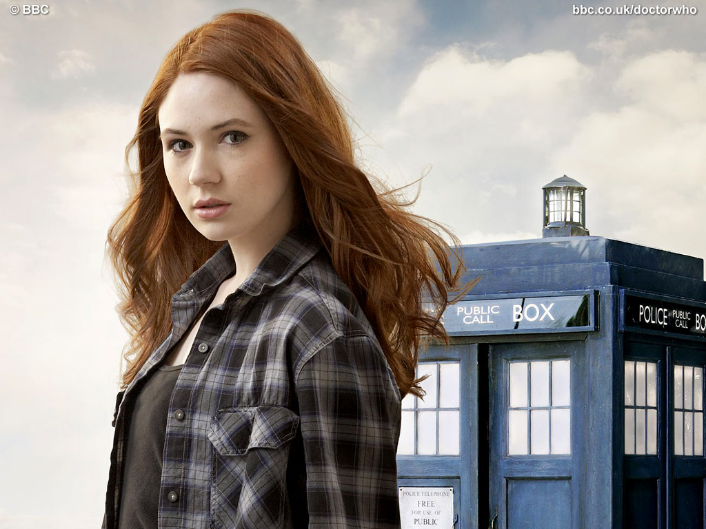 Amelia Pond from Doctor Who